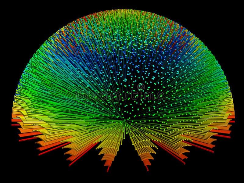 Fondo del color ilustración del vector