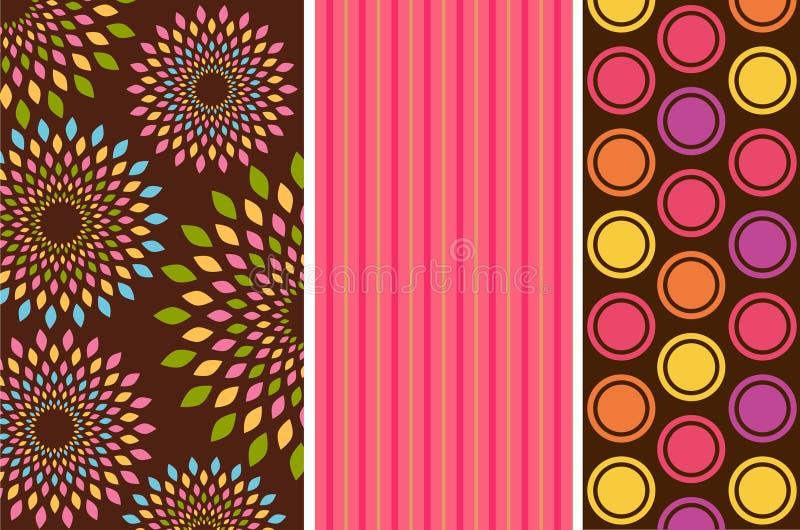 Fondo del color de la vendimia. stock de ilustración