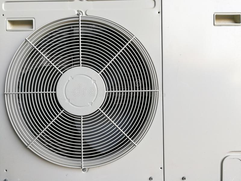 Fondo del compresor de la condición del aire imagenes de archivo