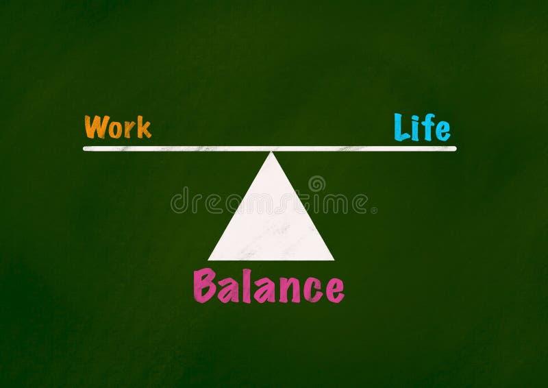 Fondo del concepto de la vida y de la balanza imagen de archivo libre de regalías