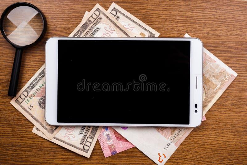 Fondo del concepto del dispositivo móvil foto de archivo