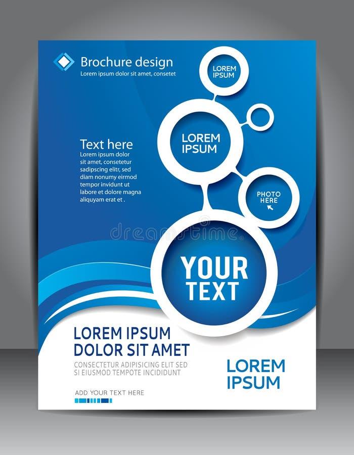 Fondo del contenido del diseño del folleto libre illustration