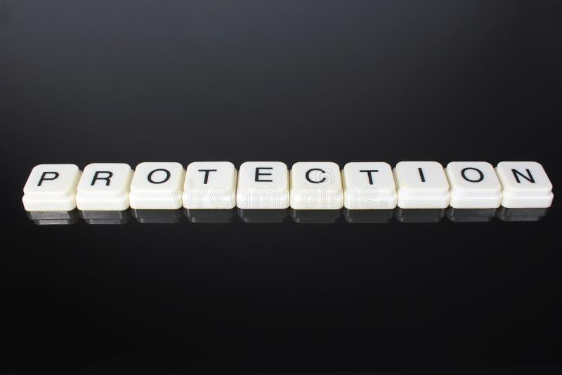Fondo del contesto della copertura dell'etichetta di titolo di titolo di parola del testo di protezione Blocchetti del giocattolo fotografia stock