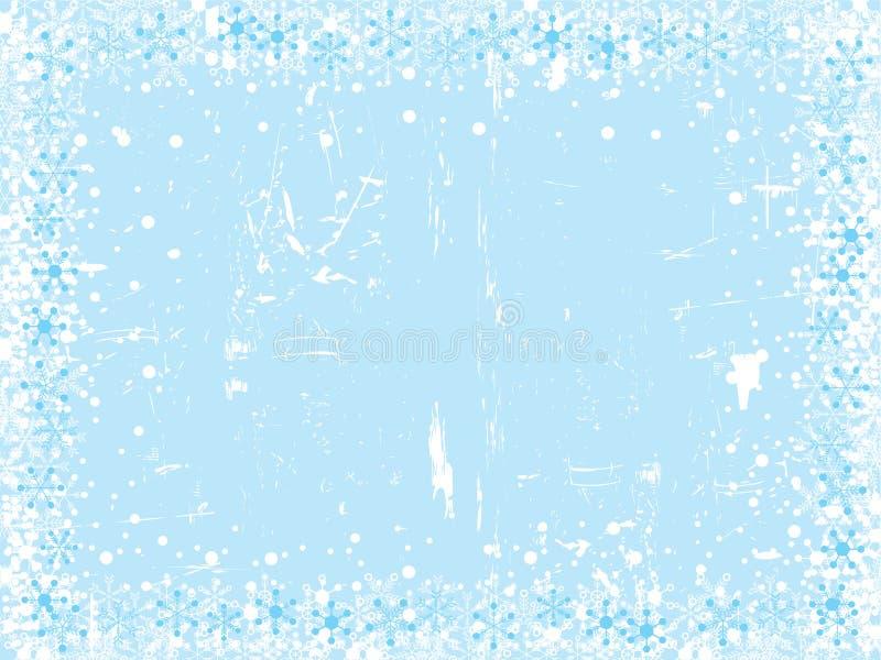 Fondo del copo de nieve de la Navidad imagen de archivo libre de regalías