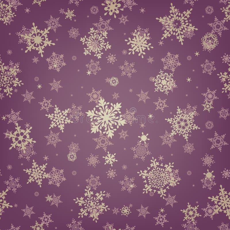 Fondo del copo de nieve del modelo de la Navidad EPS 10 libre illustration