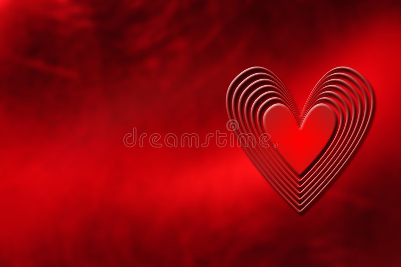 Fondo del corazón libre illustration