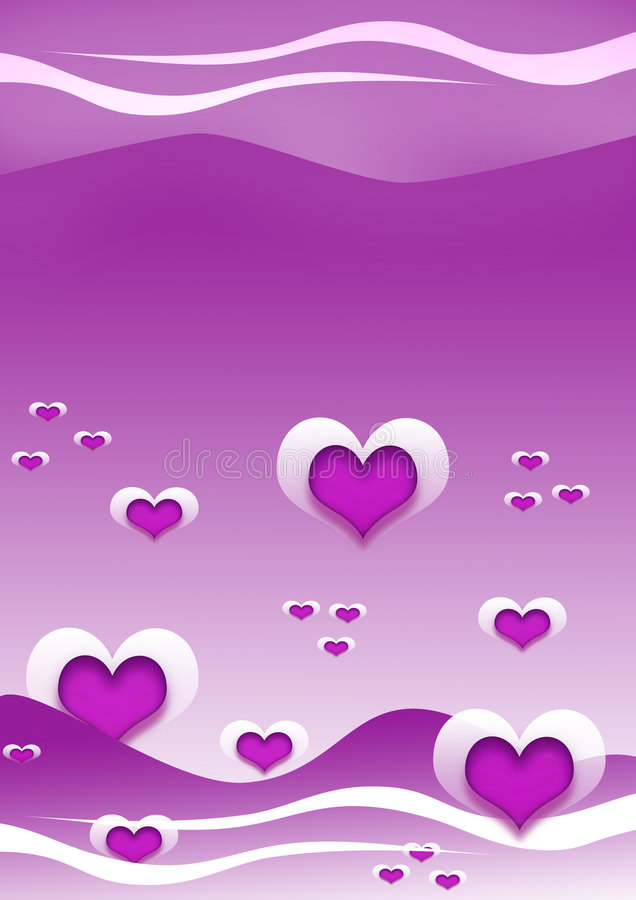 Fondo del corazón imagen de archivo