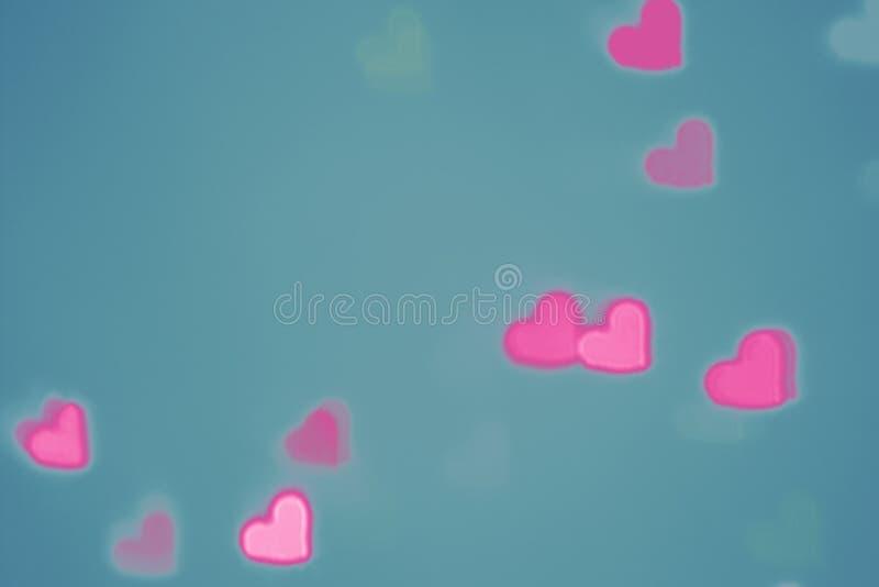 Fondo del corazón del día de tarjetas del día de San Valentín imagen de archivo libre de regalías