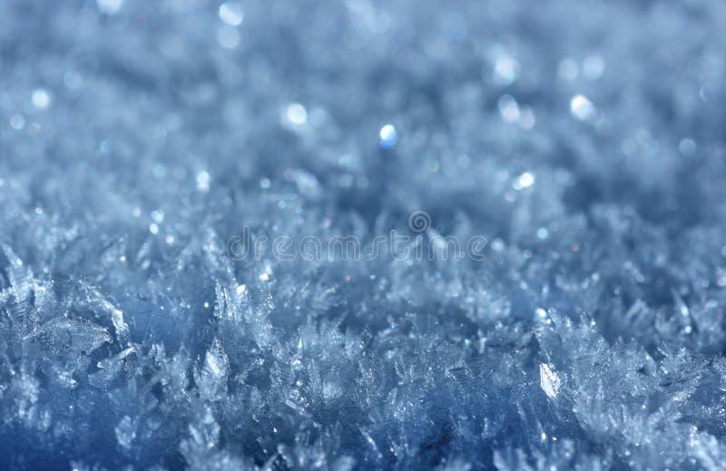 Fondo del cristal de hielo imagen de archivo libre de regalías