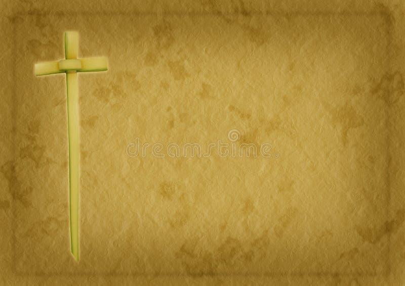 Fondo del cristiano di Domenica delle Palme royalty illustrazione gratis