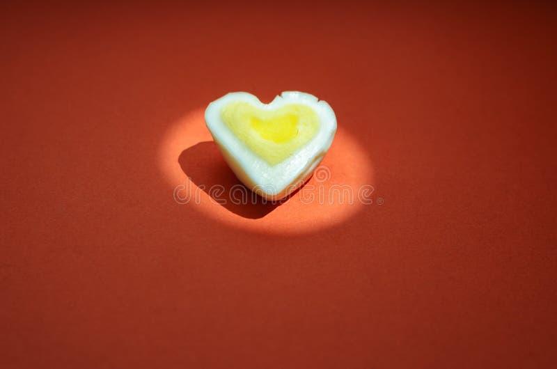 Fondo del cuore dell'uovo fotografie stock libere da diritti