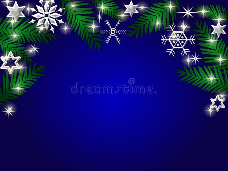 Download Fondo Del Día De Fiesta De Invierno Stock de ilustración - Ilustración de starry, árbol: 7284049