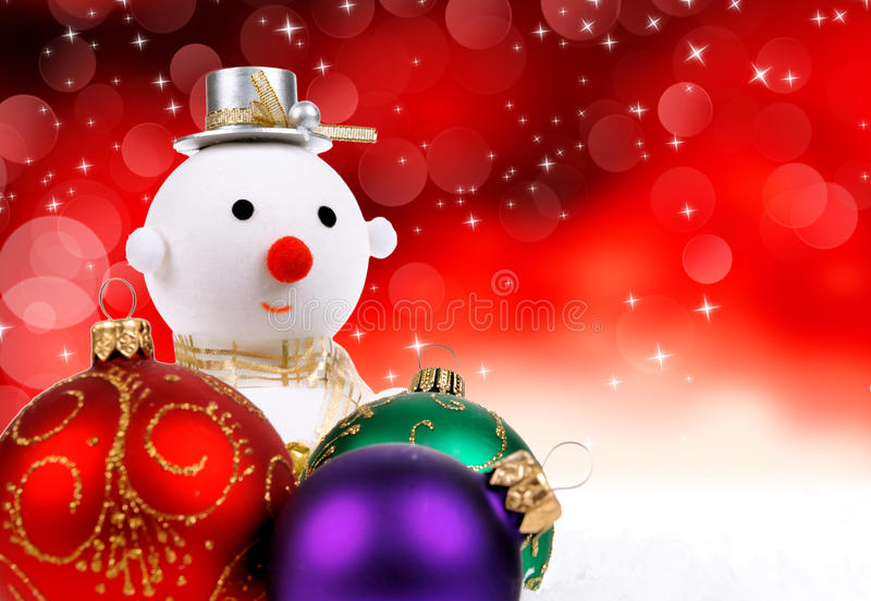 Fondo del día de fiesta de la Navidad imagen de archivo