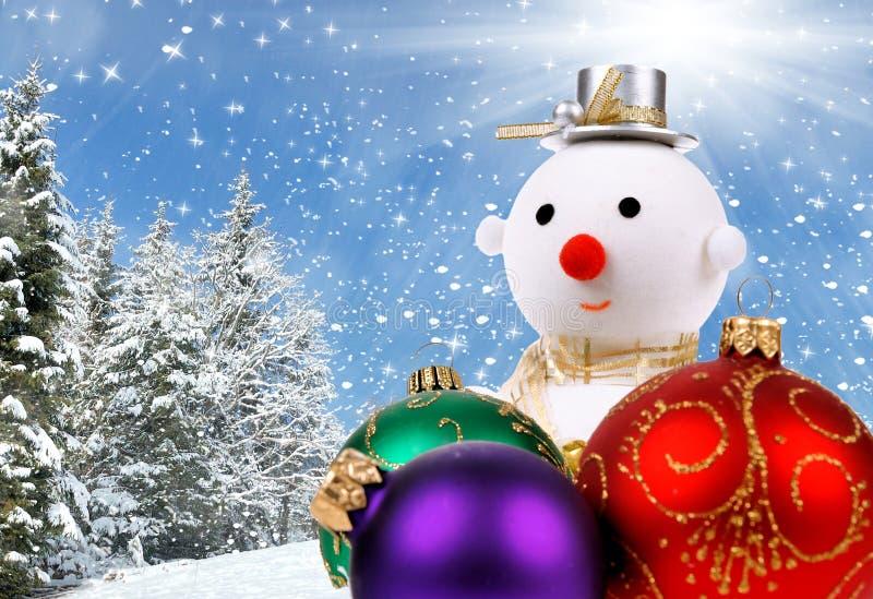 Fondo del día de fiesta de la Navidad foto de archivo libre de regalías