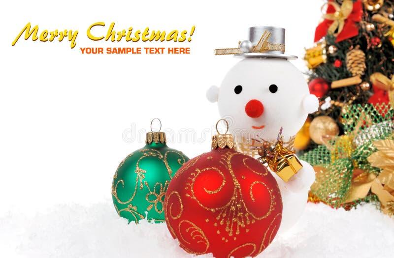 Fondo del día de fiesta de la Navidad fotos de archivo libres de regalías