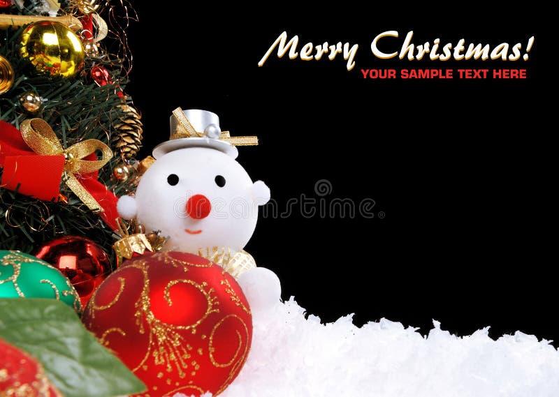 Fondo del día de fiesta de la Navidad foto de archivo