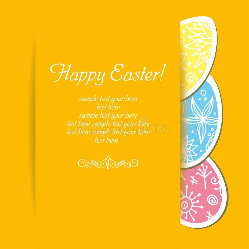 Fondo del día de fiesta de Pascua imagen de archivo