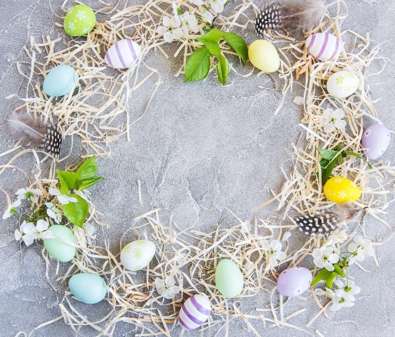 Fondo del día de fiesta de Pascua imagen de archivo libre de regalías