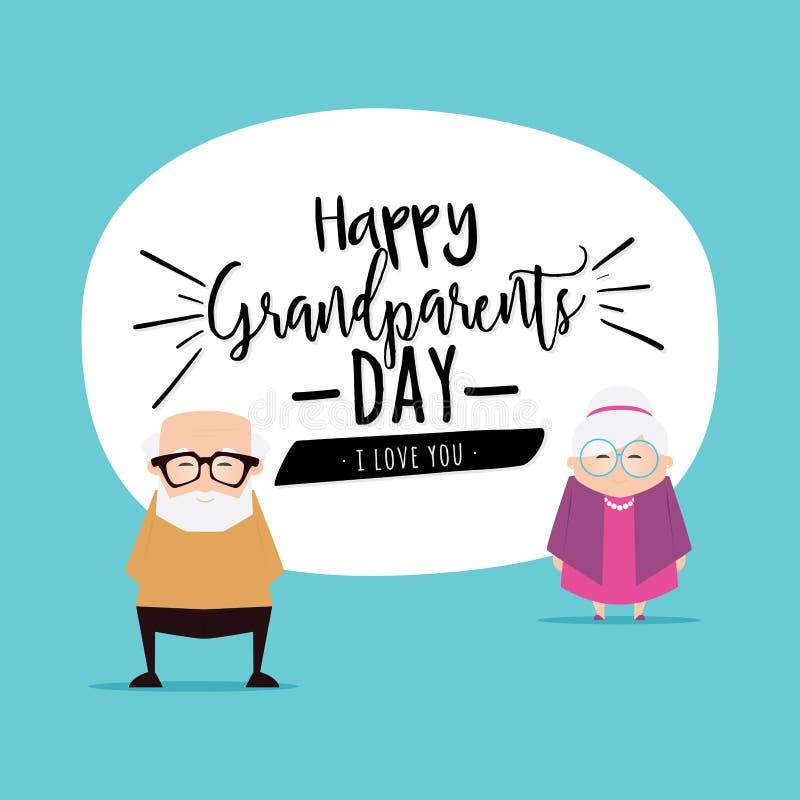 Fondo del día de los abuelos libre illustration
