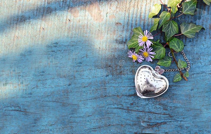 Fondo del día de tarjetas del día de San Valentín con el corazón fotos de archivo