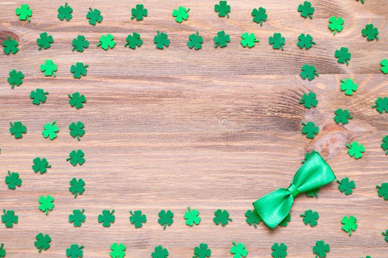 Fondo del día del `s del St Patrick imagenes de archivo