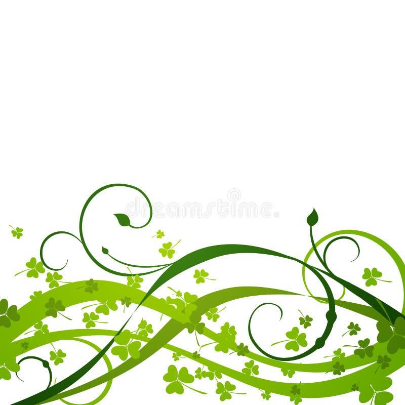 Fondo del día del St. Patricks ilustración del vector