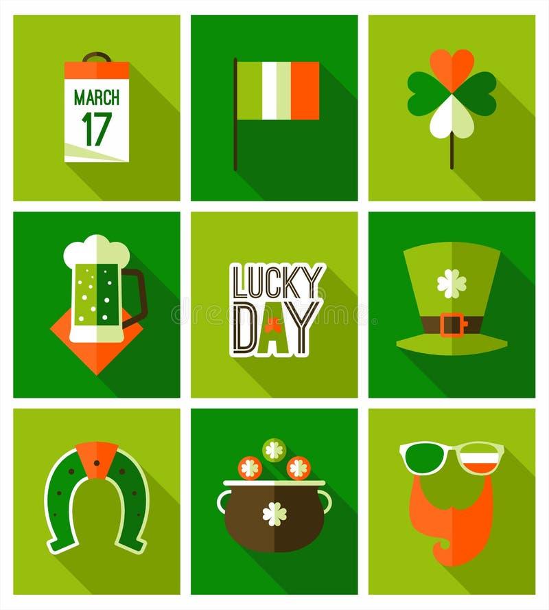Fondo del día del St Patricks libre illustration