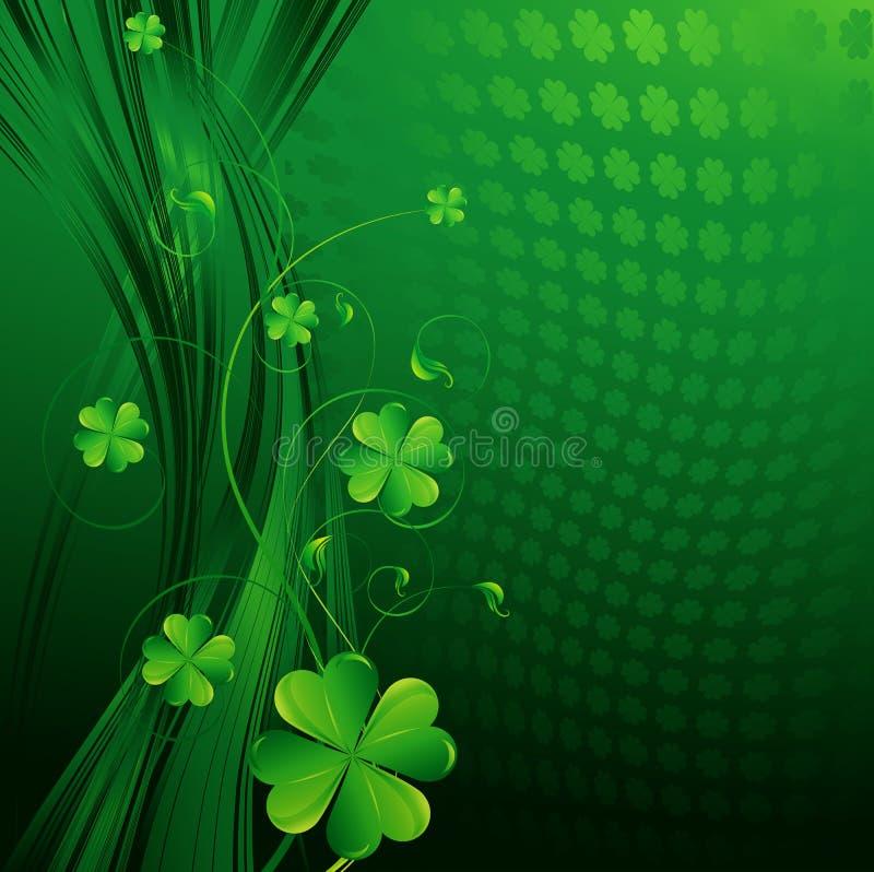 Fondo del día del St Patricks stock de ilustración