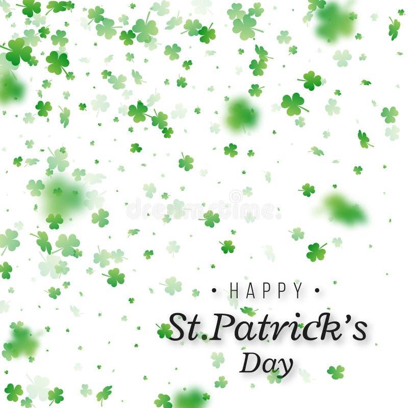 Fondo del día del `s del St Patrick ilustración del vector