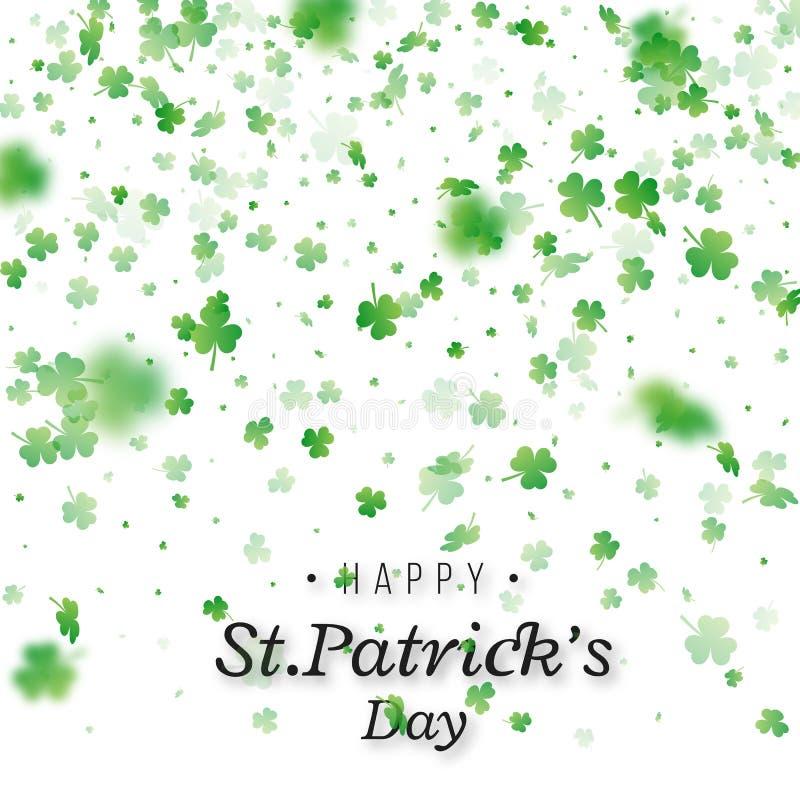 Fondo del día del `s del St Patrick libre illustration
