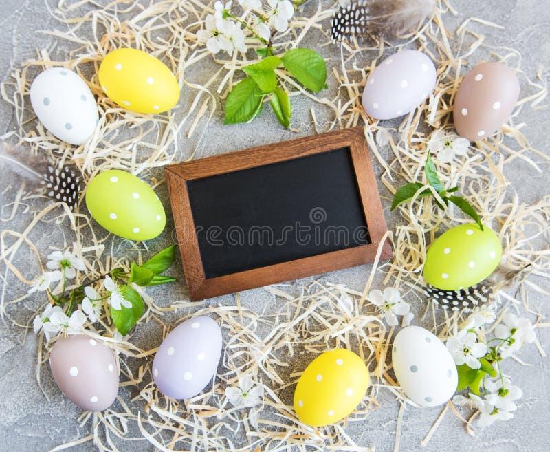 Fondo del d?a de fiesta de Pascua foto de archivo libre de regalías