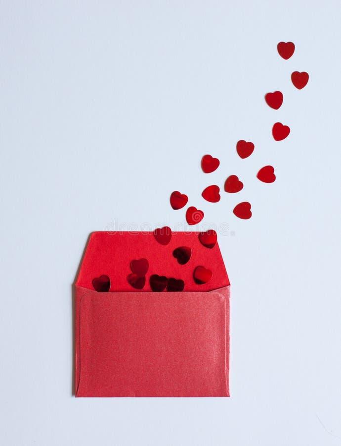 Fondo del d?a del ` s de la tarjeta del d?a de San Valent?n imágenes de archivo libres de regalías