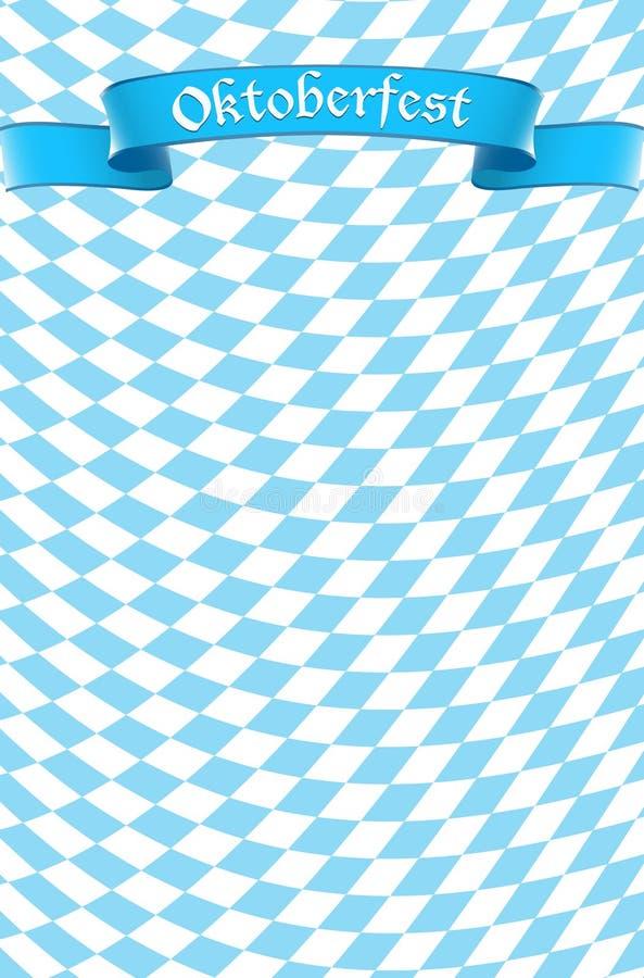 Fondo del diseño de la celebración de Oktoberfest ilustración del vector