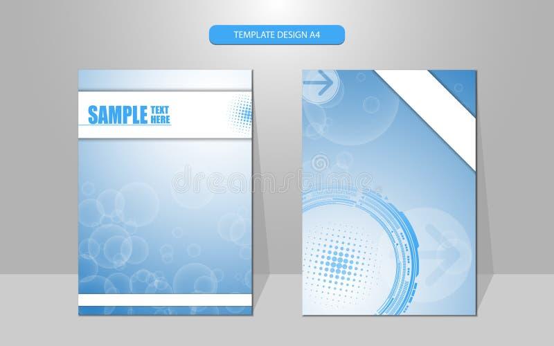 Fondo del diseño de la cubierta del concepto de la tecnología del modelo de la burbuja del vector libre illustration