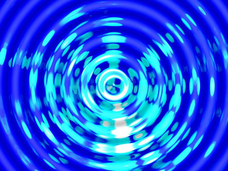 Fondo del efecto del agua, resonancia colorida del agua foto de archivo libre de regalías