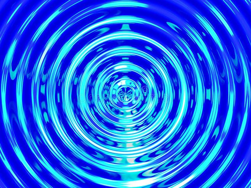 Fondo del efecto del agua, resonancia colorida del agua imagen de archivo