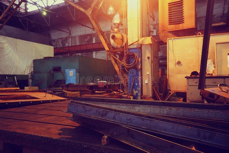 Fondo del equipo industrial imagen de archivo