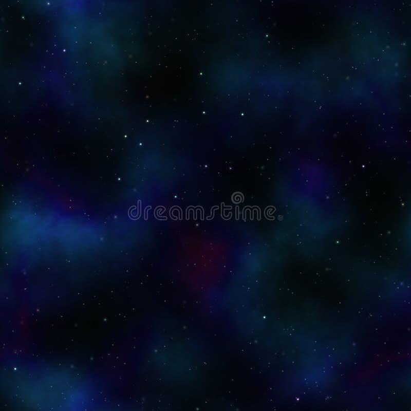 fondo del espacio profundo ilustración del vector