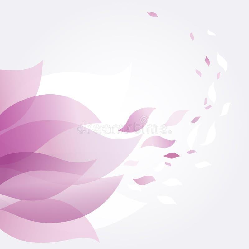 Fondo del estampado de flores libre illustration