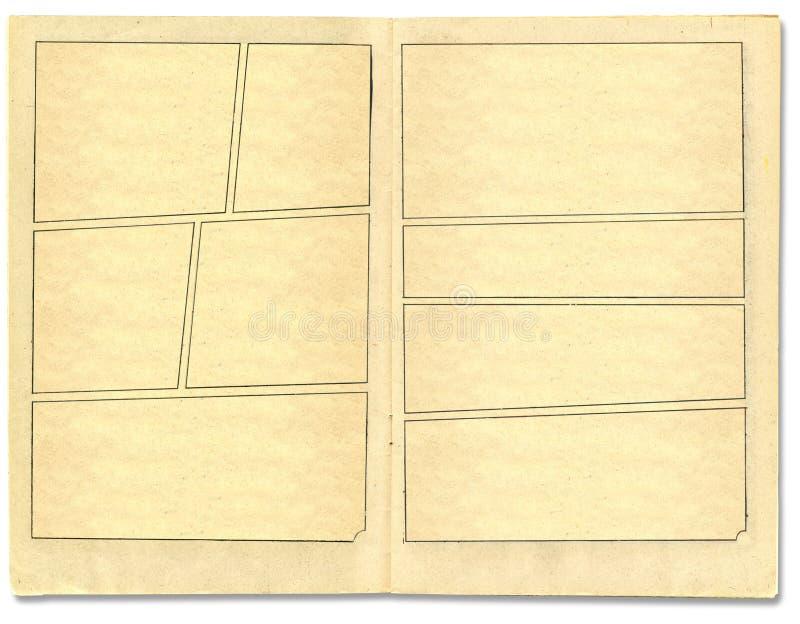 Fondo del estilo del cómic fotos de archivo libres de regalías