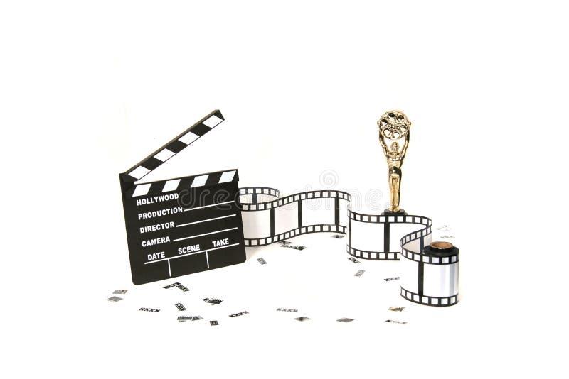 Fondo del estudio de la película fotografía de archivo libre de regalías