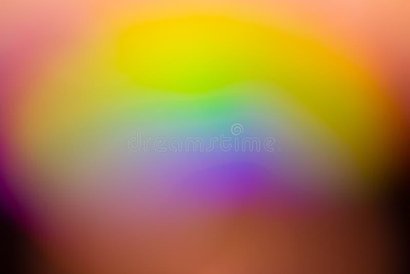 Fondo del extracto del color del arco iris fotos de archivo