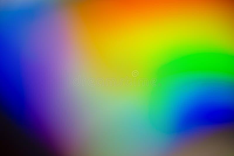 Fondo del extracto del color del arco iris foto de archivo
