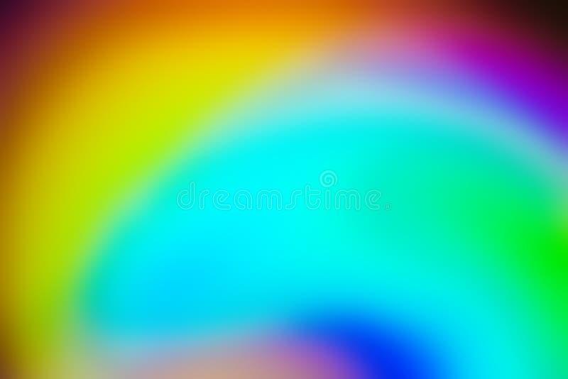 Fondo del extracto del color del arco iris imagen de archivo