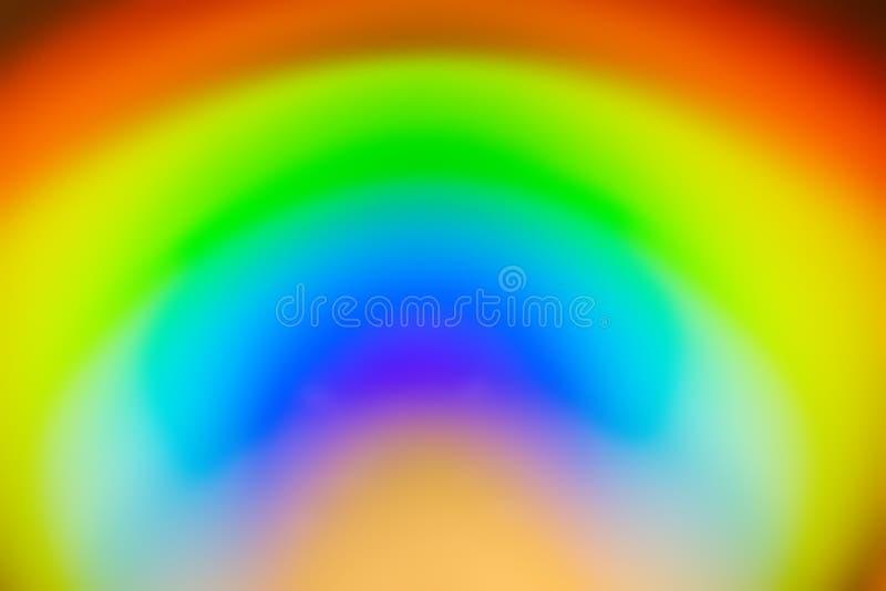 Fondo del extracto del color del arco iris stock de ilustración