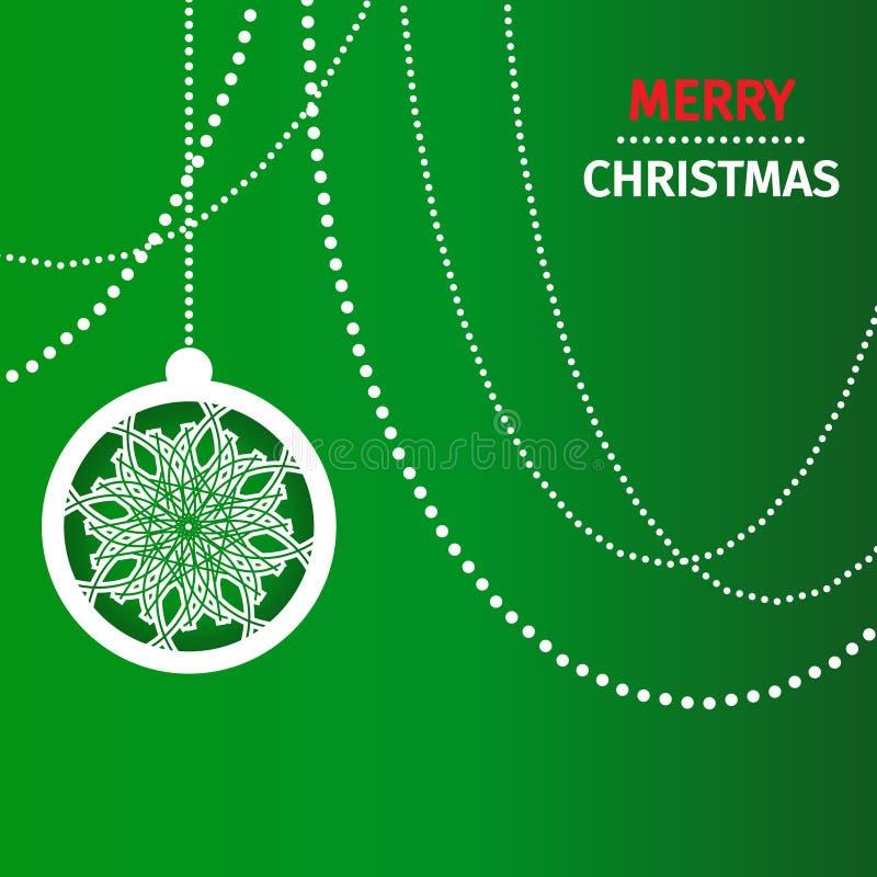 Fondo del extracto de la Feliz Navidad stock de ilustración
