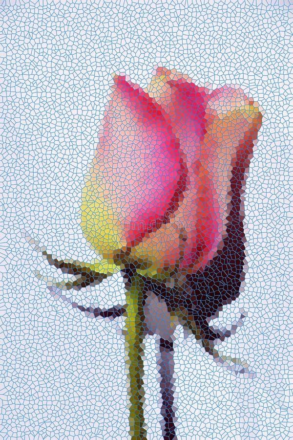 Fondo del extracto de la rosa del rosa fotos de archivo libres de regalías
