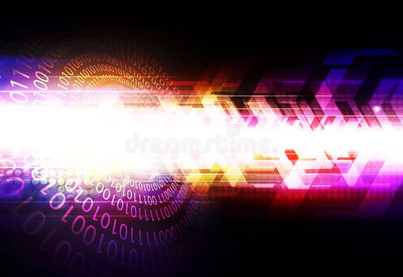 Fondo del extracto de la tecnología de Digitaces libre illustration