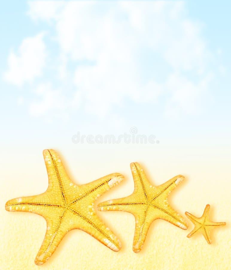 Fondo del extracto de las vacaciones del verano imagen de archivo libre de regalías