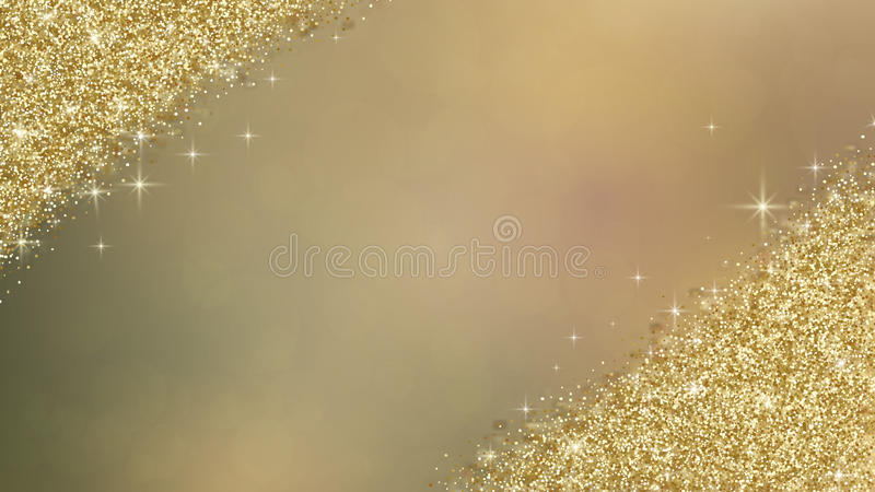 Fondo del extracto del brillo del oro libre illustration